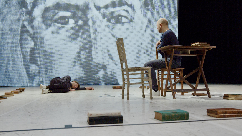 Scènefoto uit de productie Boekman