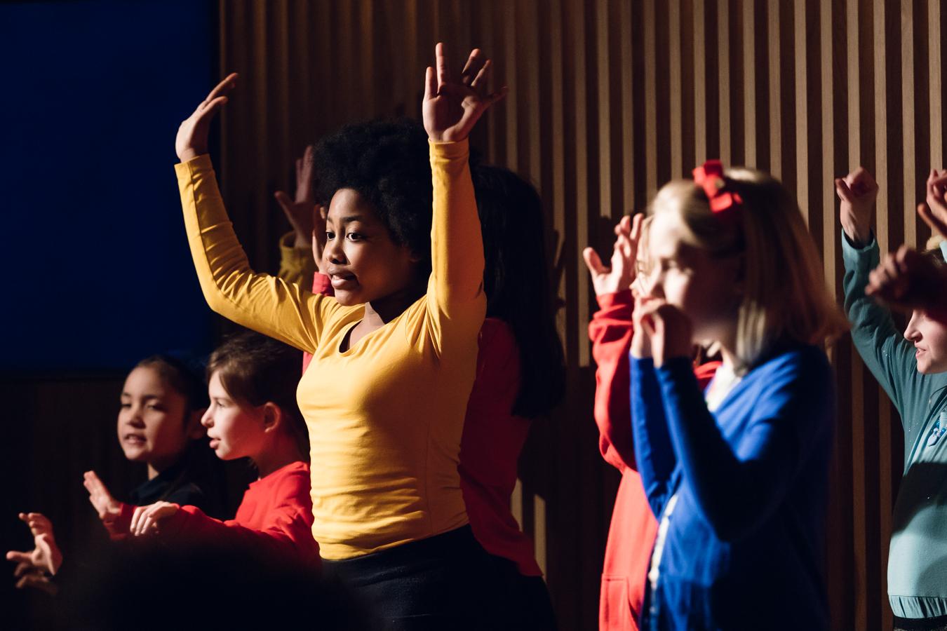 Scènefoto uit productie Operahelden