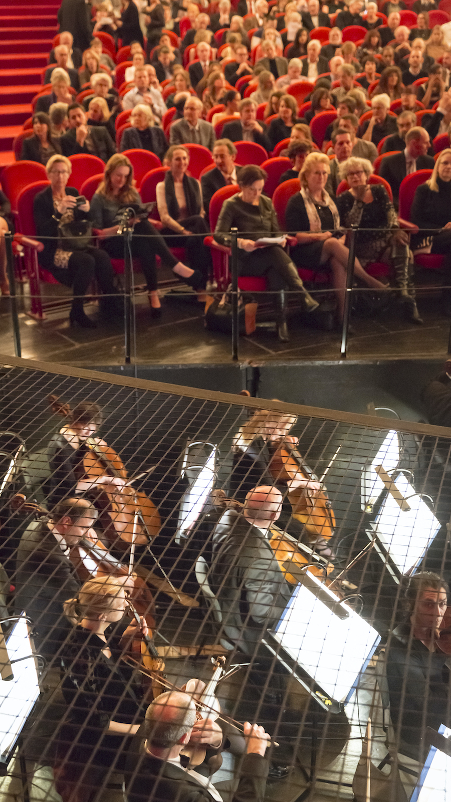 Theater met orkestbak