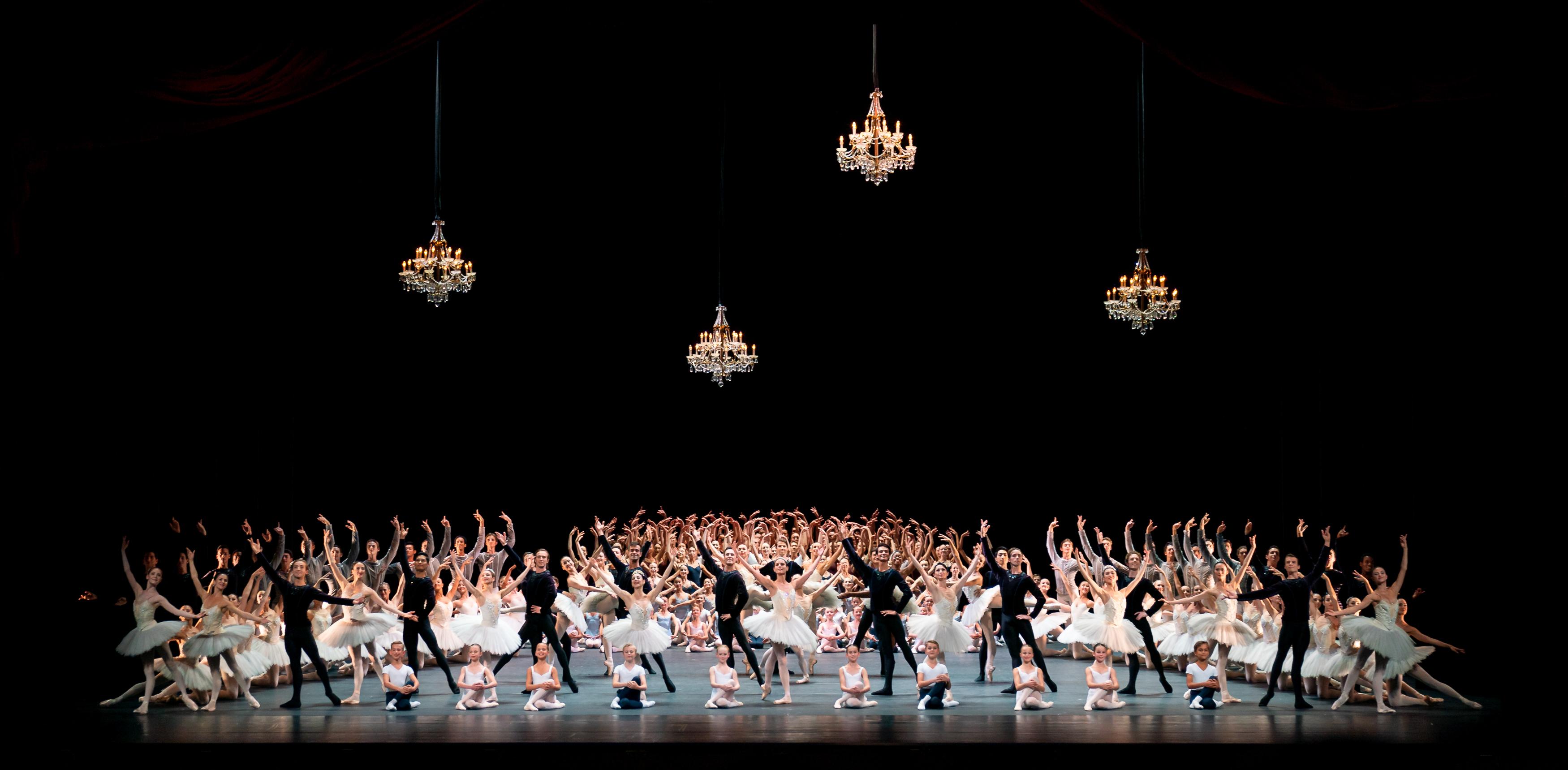 De dansers van Het Nationale Ballet