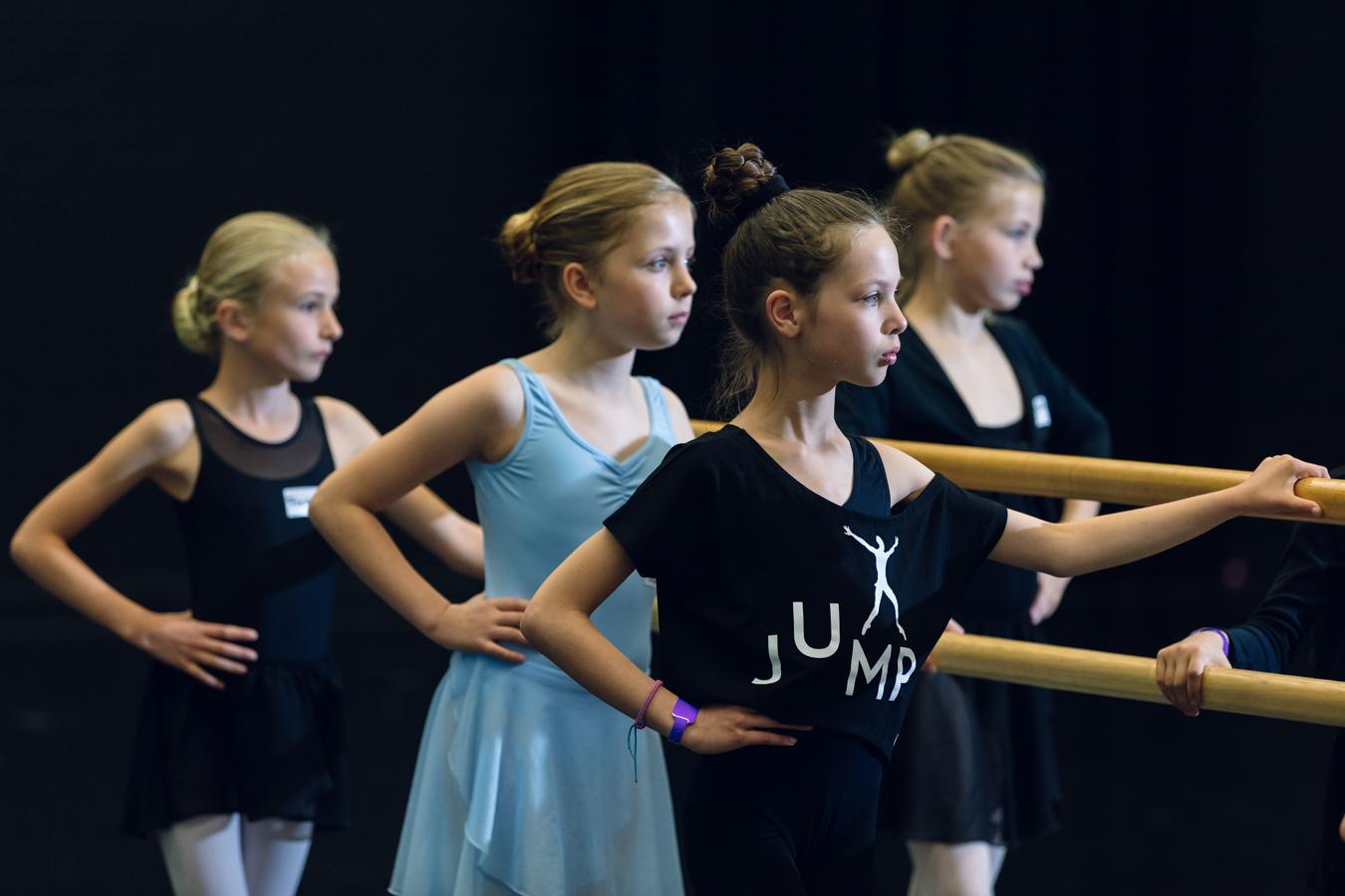 Jump danseressen