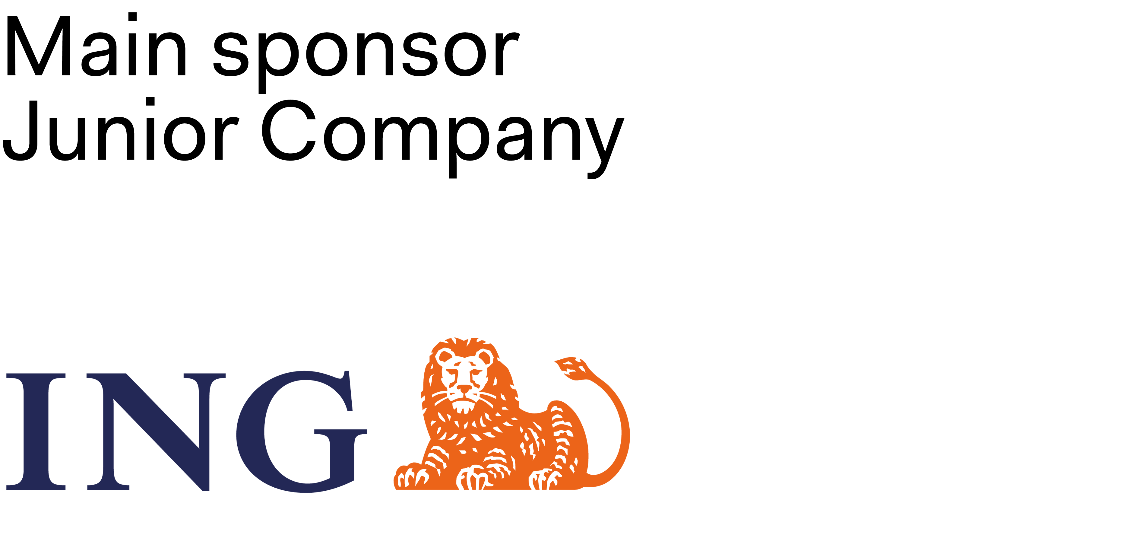 ING main sponsor Junior Company