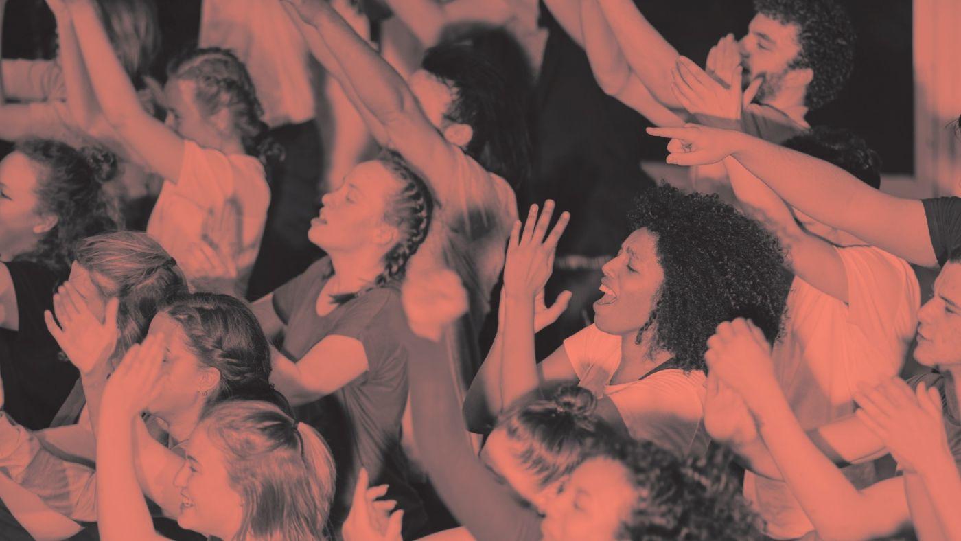 Studenten van de MBO Theaterschool in WILD.j