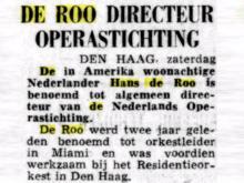Hans de Roo