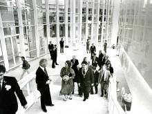 Opening gebouw door koningin Beatrix