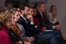 Luisterend publiek
