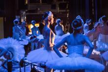 Het Nationale Ballet zijtoneel