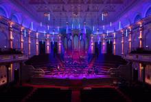 Zaal van het concertgebouw
